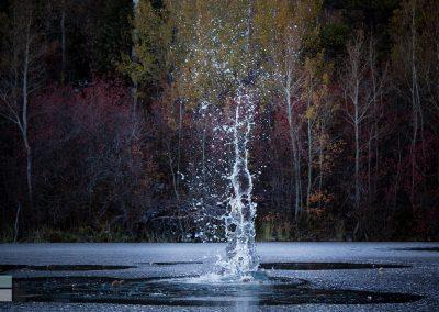 Michael Boyack Frozen Splash
