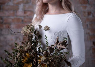 Michael Boyack Women Fashion Shoot Skeleton Bride